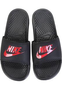 8c8632a0ca6bb ... Sandália Nike Benassi Jdi Masculina - Masculino-Preto+Vermelho