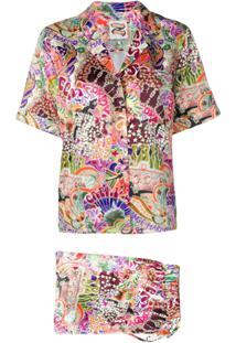 Tommy Hilfiger Blusa Com Estampa Gráfica - Estampado