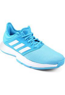 Tênis Adidas Gamecourt Masculino - Masculino-Azul Piscina