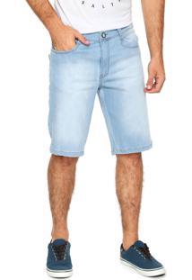Bermuda Jeans Hang Loose Reta Surin Azul