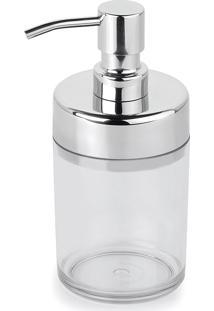 Kit 6 Dispenser Sabonete Líquido Acquaset Incolor Forma