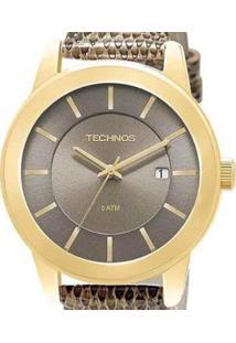 Relógio Technos Feminino Analógico St. Moritz - Feminino-Dourado
