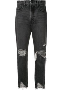 Nobody Denim Calça Jeans 'Frankie' - Preto