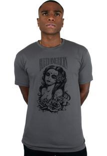 Camiseta Bleed American Timeless Chumbo