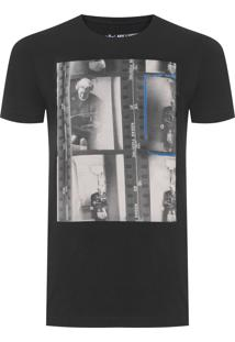 Camiseta Masculina Queen Uk - Preto