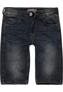 Bermuda Jeans Masculina Slim Jeans