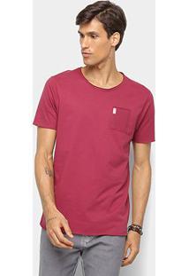 Camiseta Derek Ho C/ Bolso Masculina - Masculino-Vinho
