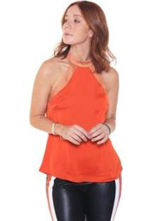 Regata Studio 21 Fashion Bicolor - Feminino-Marrom