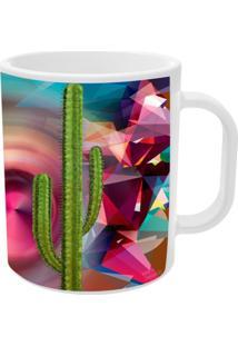 Caneca Cactus Griselda Tamanho Unico Vickttoria Vick Rosa