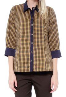 Camisa Energia Fashion Xadrez