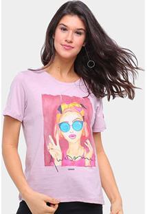 Camiseta Sommer Awesome Feminina - Feminino-Rosa