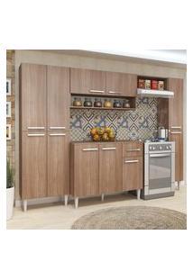 Cozinha Modulada Com Tampo Fellicci Móveis Madri 11 Portas
