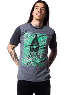 Camiseta Zero Shape Line Sandoval Cinza Escuro