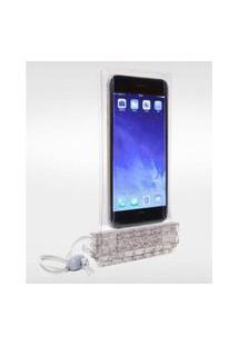 Bolsa Capinha Celular Estanque Impermeável Smartphone - *Bolsa Estanque Smartphone Cinz, No Size