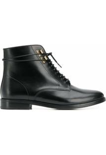 A.P.C. Ankle Boot - Preto