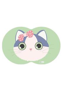 Tapete Pet Gato Verde 55X35Cm