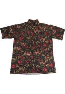 Camisa Outlawz Spring Love - Masculino-Preto