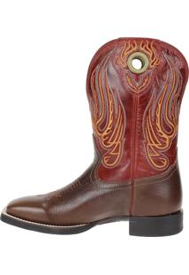 Bota Country West Country Marron