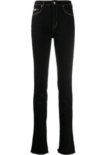 Versace Jeans Couture Calça Jeans Skinny Cintura Alta - Preto