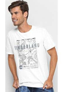 Camiseta Timberland Signature Maps Masculina - Masculino