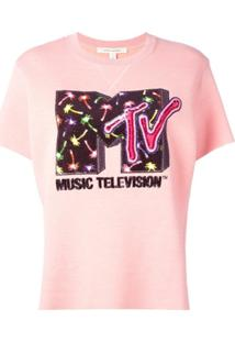 Marc Jacobs Blusa De Moletom Mtv X Marc Jacobs - Rosa