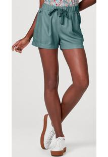 Shorts Básico Feminino Em Viscose