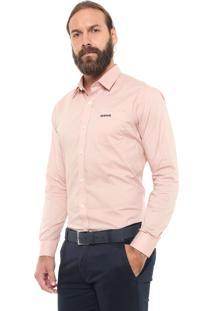 Camisa Mr Kitsch Reta Bolso Rosa