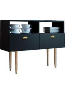 Buffet Paris 2 Pt Preto