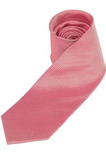 Gravata Vermelha Texturizada - Uni
