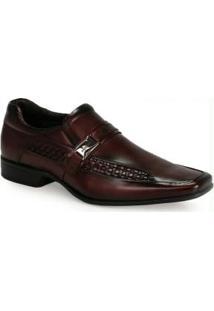 Sapato Social Masculino Rafarillo Vinho
