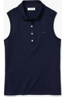 Polo Lacoste Slim Fit Azul