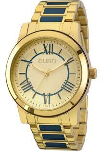 Relógio Euro Feminino Coleção Esmaltados Eu2035Yei/5A - Dourado