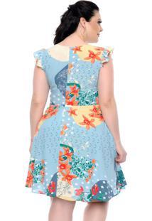 Vestido Verão Plus Size - Domenica Solazzo