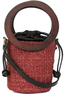 ... Aranaz Inis Mini Bucket Bag - Vermelho 086ed140472