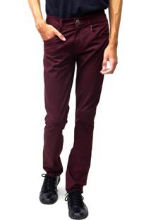 Calça Jeans Sandro Clothing Vinho
