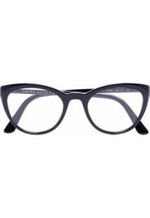 Prada Eyewear Óculos De Sol Gatinho Preto