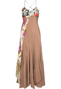Chloé Vestido De Seda - Neutro
