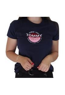 Blusa Tommy Jeans Feminina Marinho