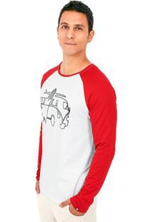 Camiseta Camiseta Raglan Kahú Guardians Kombi - Masculino