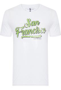 Camiseta Masculina San Francisco - Branco