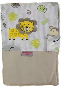 Capa Para Cartão De Vacinação - Alan Pierre Baby - Safári Amarelo
