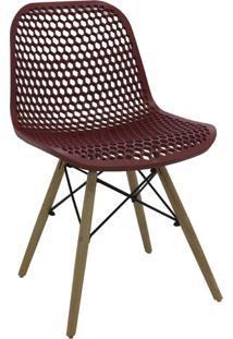 Cadeira Eloisa Carmin Rivatti Móveis