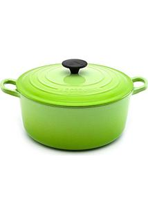 Panela Redonda 26 Cm Verde Kiwi Le Creuset