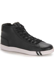 Bota Casual Masculina West Coast - Preto