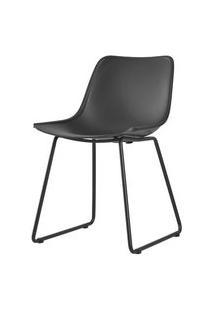 Cadeira Clyde Preta Com Base Preta - 58170 Preto
