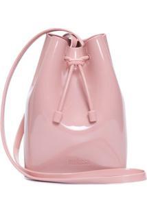 Bolsa Bucket Bag Rosa Melissa - Rosa
