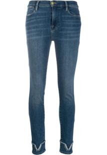 Frame Calça Jeans Skinny Liverpool-Wash - Azul