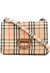 Burberry D-Ring Shoulder Bag - Neutro