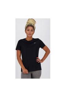 Camiseta Reebok Sportstyle Feminina Preta