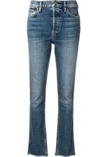 Re/Done Calça Jeans Slim - Azul